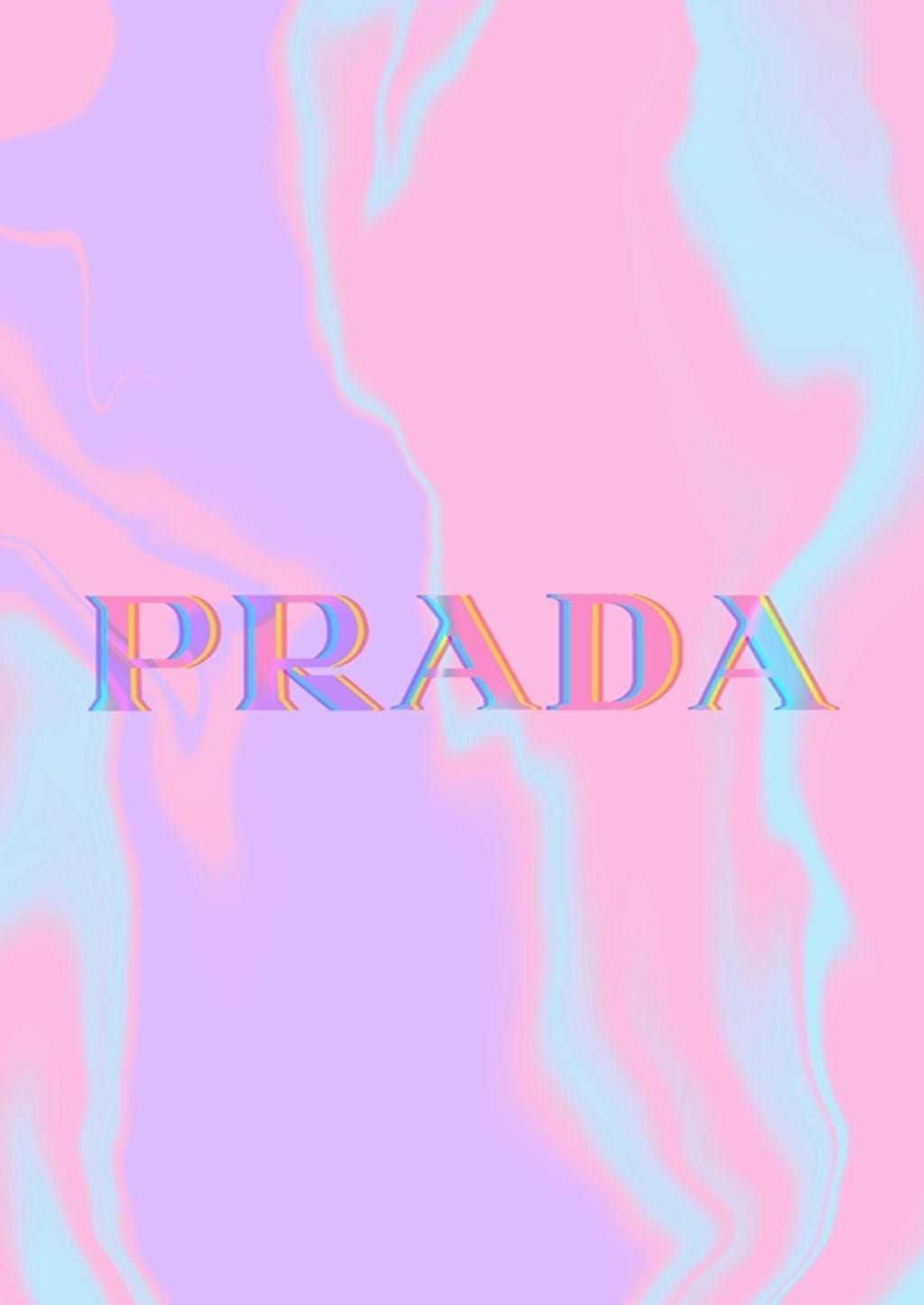 Poster: PRADA Glitch - Digital