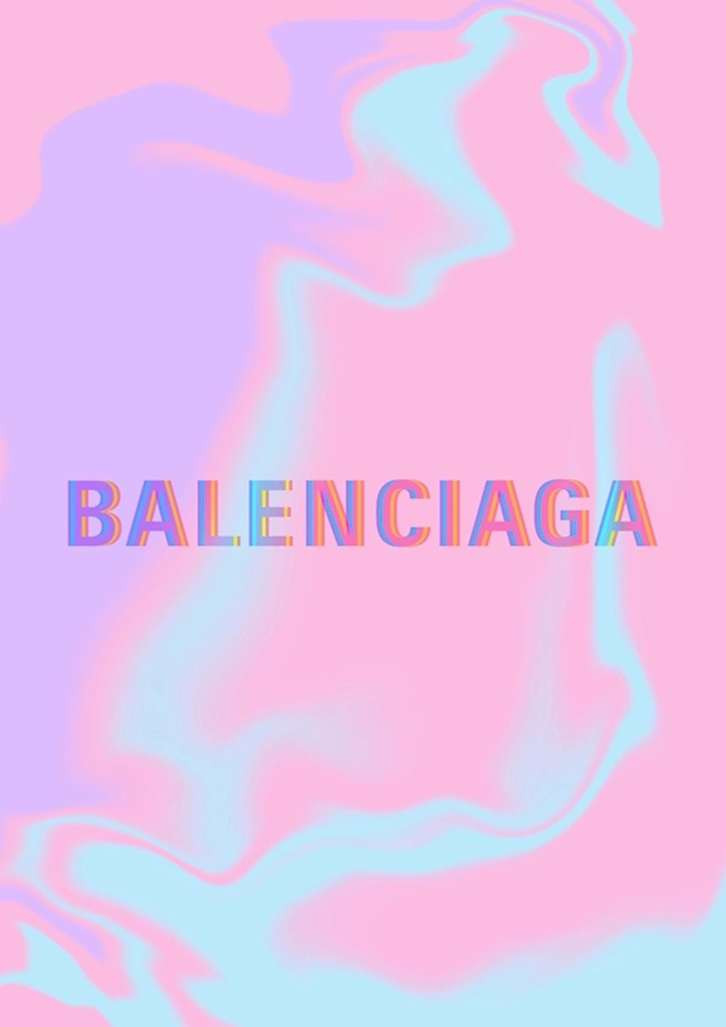 Poster: BALENCIAGA Glitch - Digital
