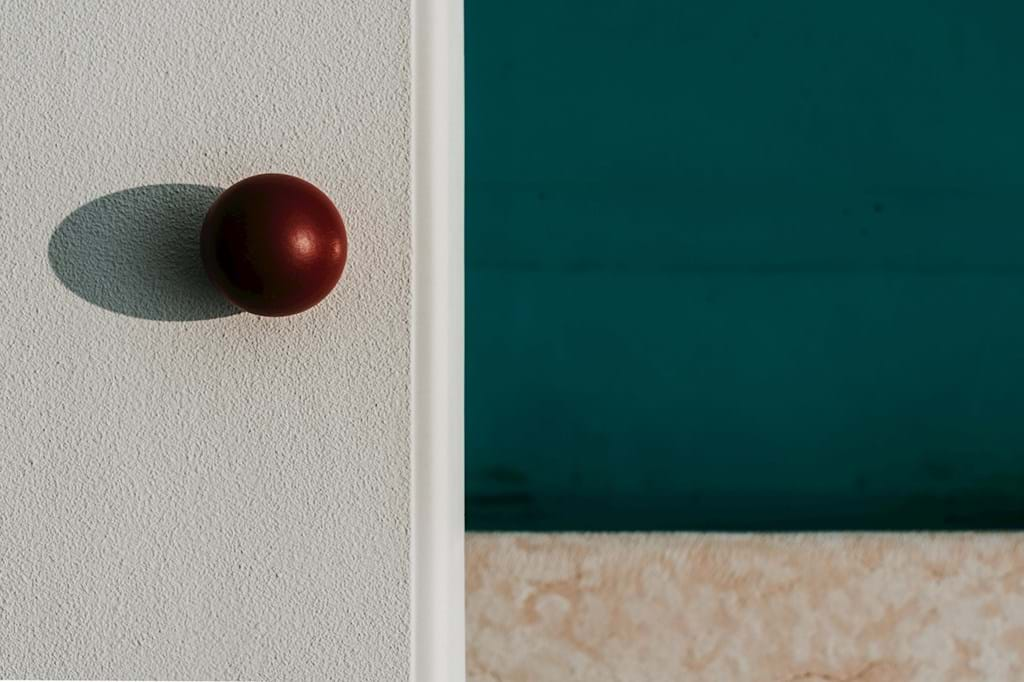Poster: Red Ball Isolated - Digital