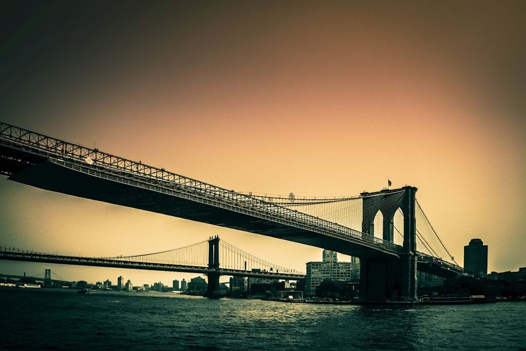Poster: Brooklyn Bridge - Places & Cities