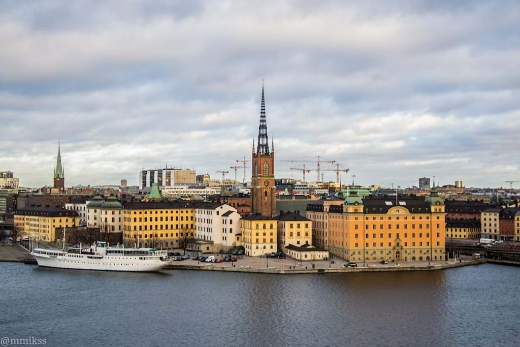 Poster: Stockholm view. - Places & Cities