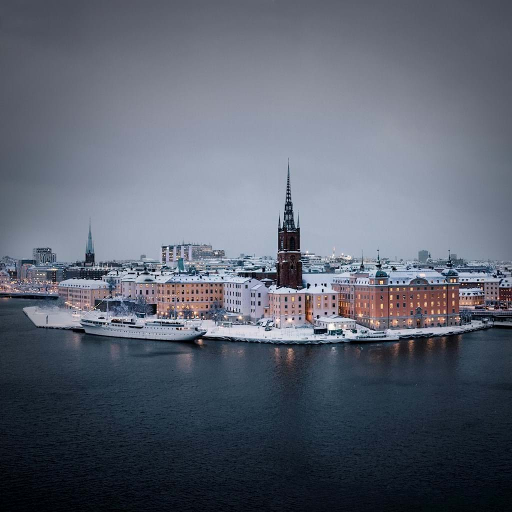 Poster: Stockholm - Places & Cities