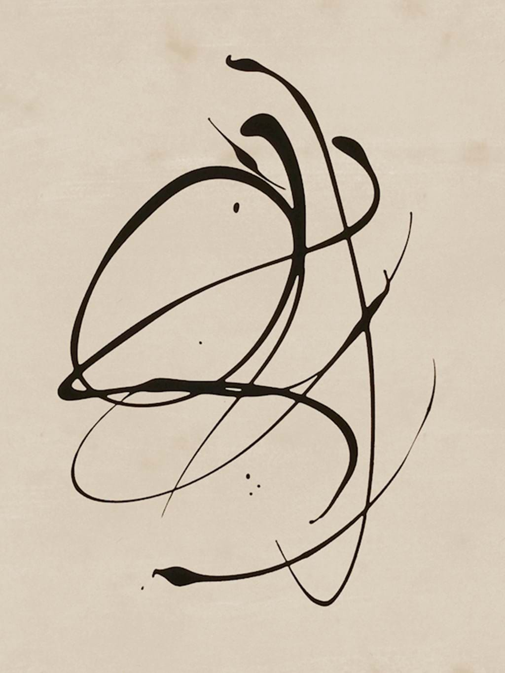Poster: Abstract lines - Abstract