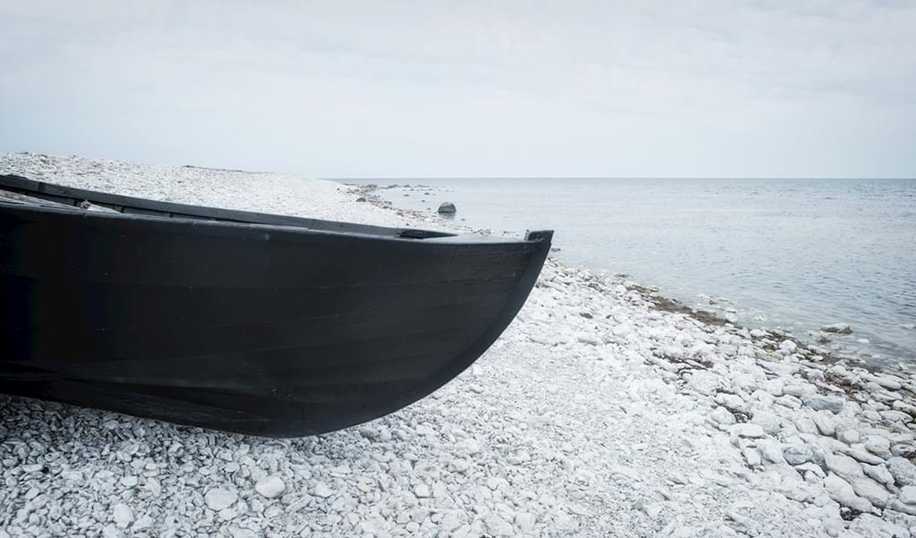 Poster: the old fishing boat - Nature