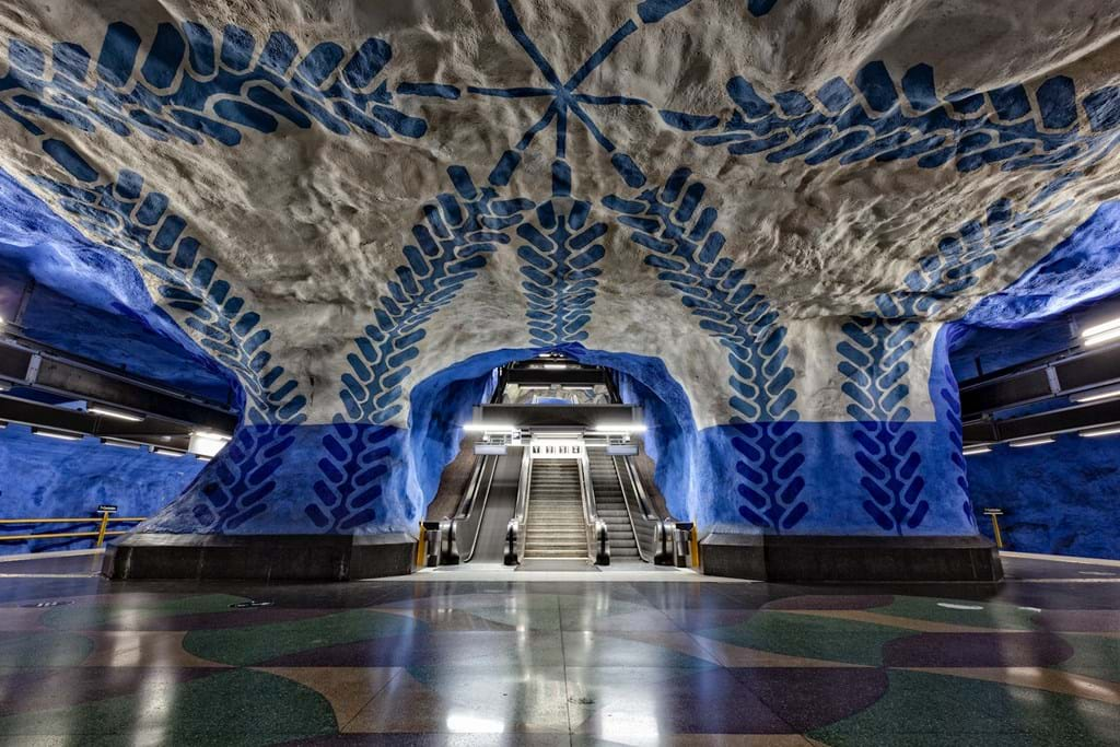 Poster: Stockholm Metro Art Collection - Architecture & Design