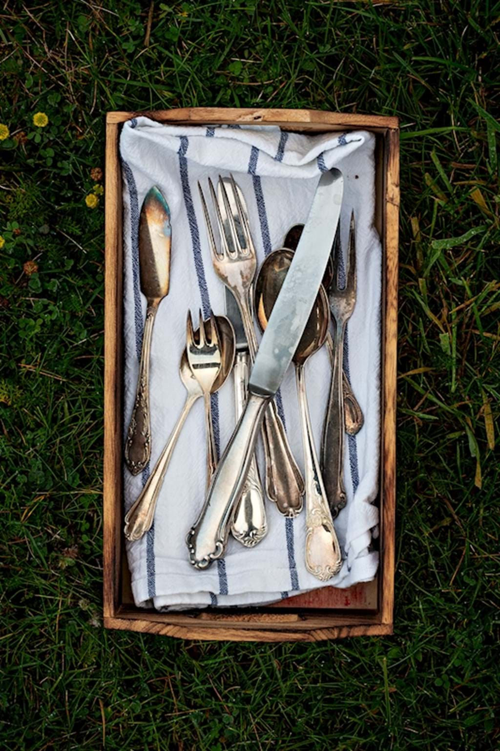 Poster: Old cutlery - Kitchen Art