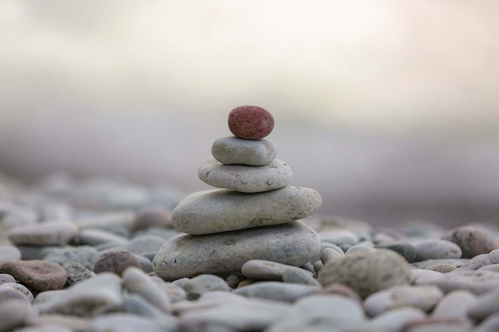 Poster: Stones by the Sea on Gotland - Digital