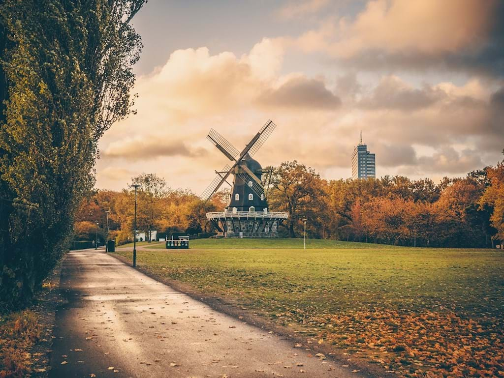 Poster: Autumn at the Castle Mill - Digital