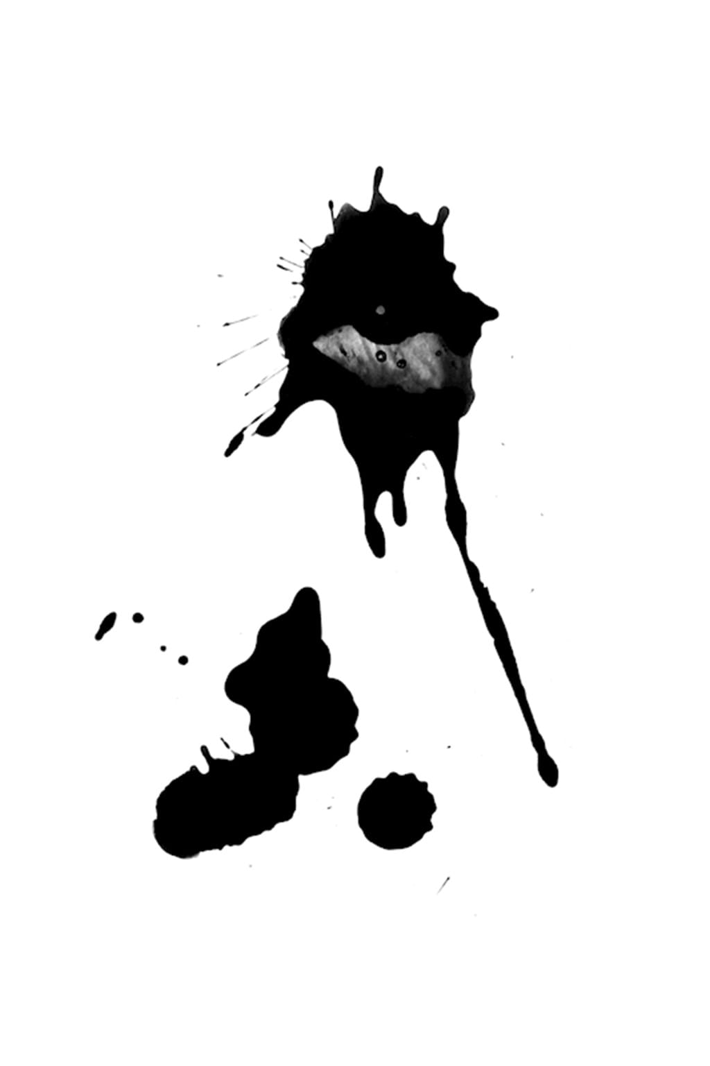 Poster: Ink outside the box - Artistic