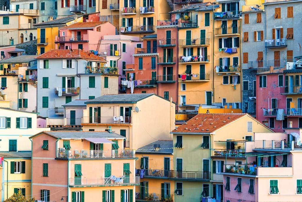 Poster: Colors of Manarola - Places & Cities