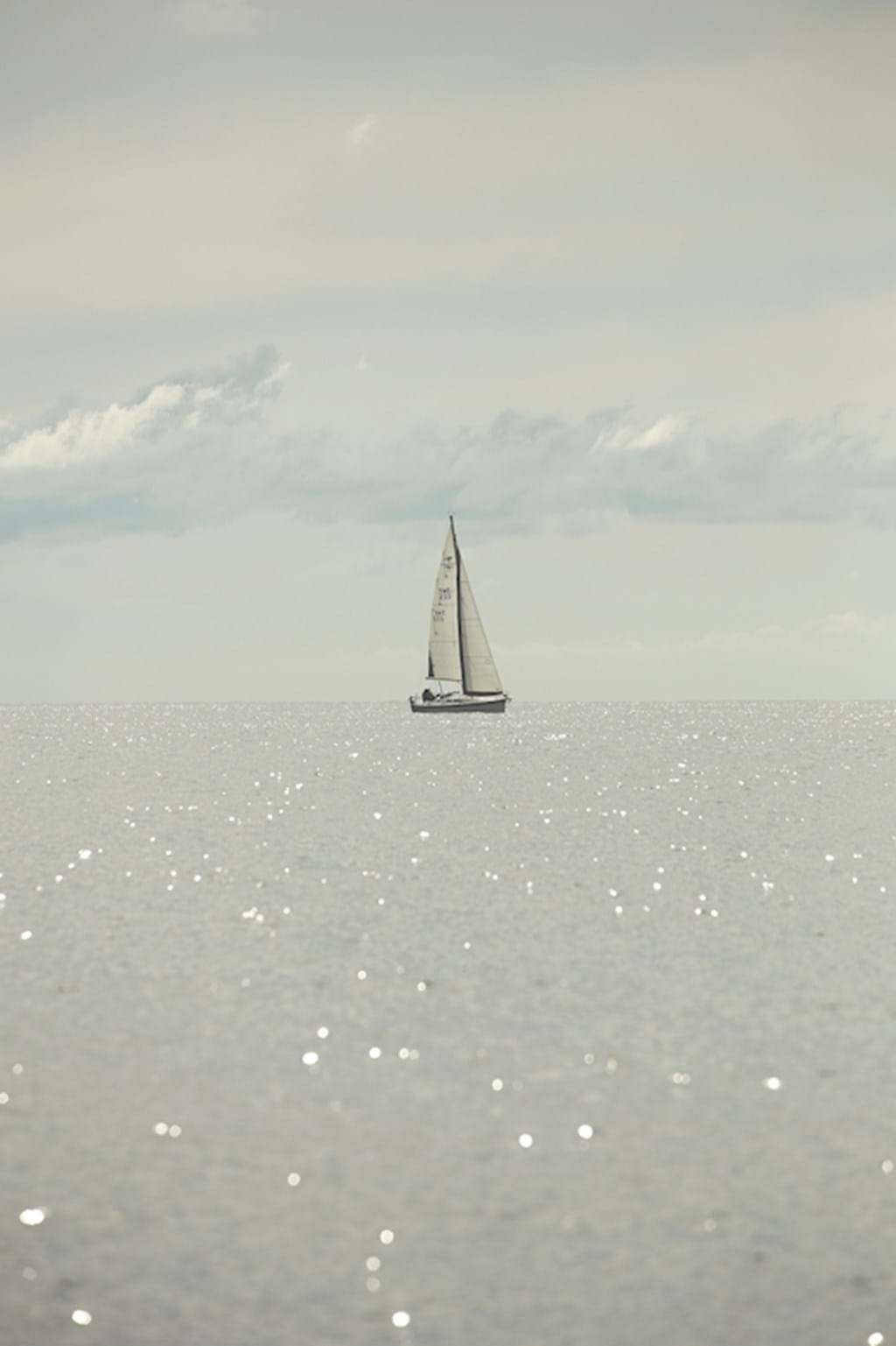 Poster: Sailing boat - Digital