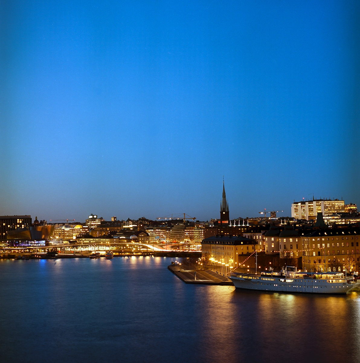 Stockholm by night posters & prints by Gunnar Eld