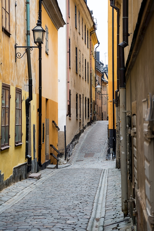Gamla stan alley posters & prints by Mats Andersson