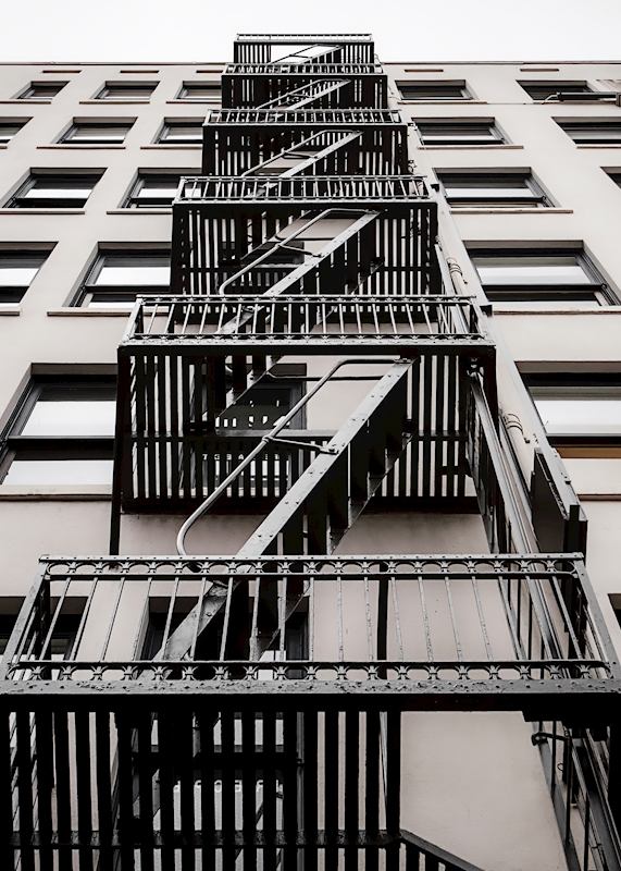Fire Escape posters & prints by Karl Johansson