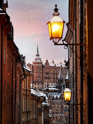 Vinter in Old Town