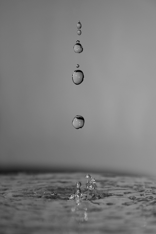 Water droplets posters & prints by Alexander Hauer