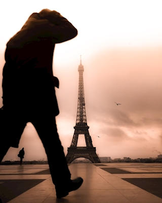 Early morning in Paris