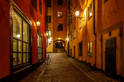 The Old city's lights