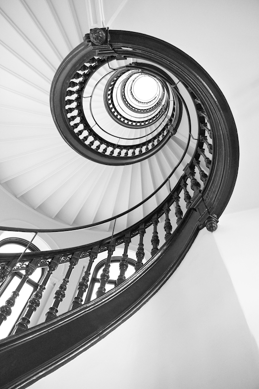 The spiral posters & prints by heidi b. holm