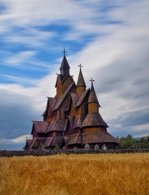 Norway's largest stave church