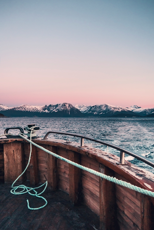 Onboard Surrounded by Alps poster av Emelie Persson