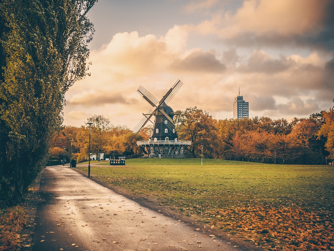 Autumn at the Castle Mill posters & prints by Karl Andersson