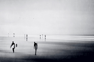 People on a Beach
