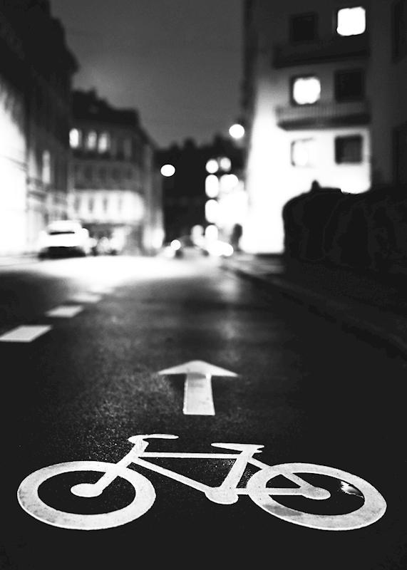 Bicycle path posters & prints by torahot