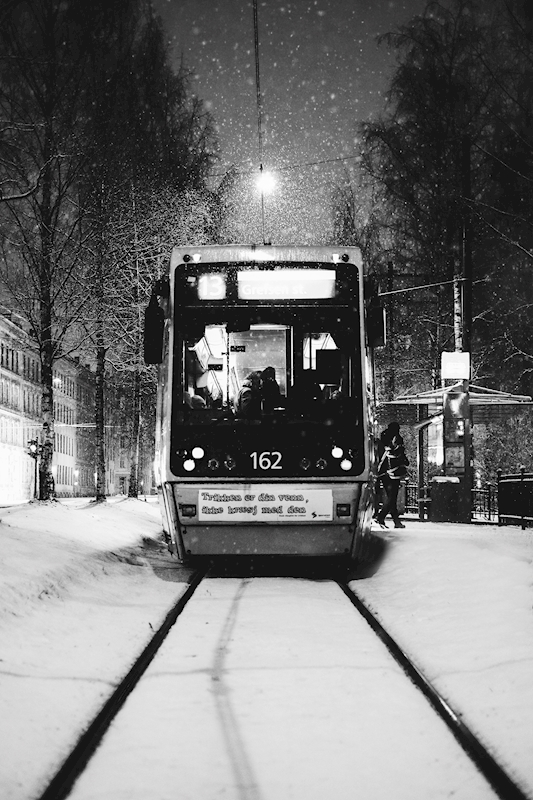 The Tram in Oslo posters & prints by torahot