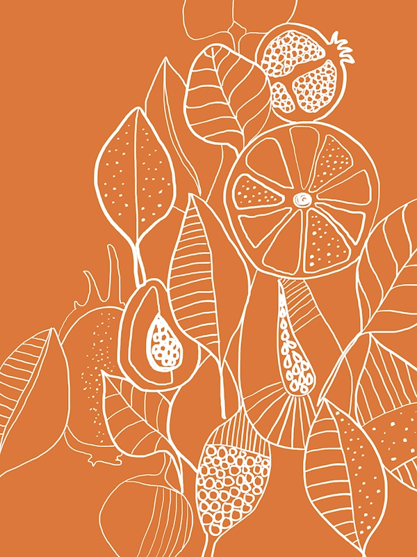 Leaf & fruit posters & prints by Visual Aspect