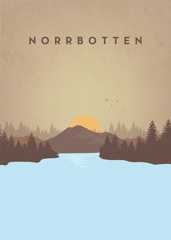 North Sweden posters & prints by Jonas Henriksson
