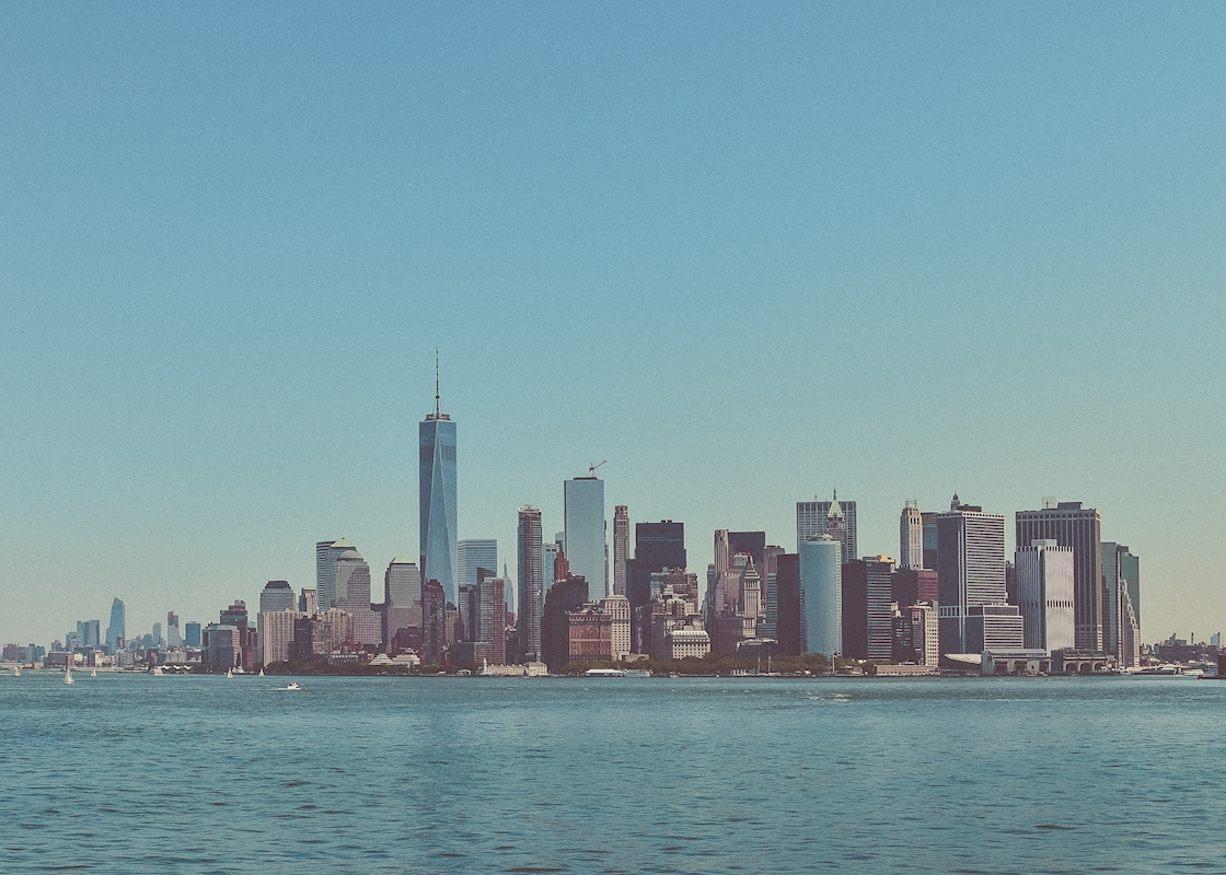 New York Skyline posters & prints by Pelle Nordin