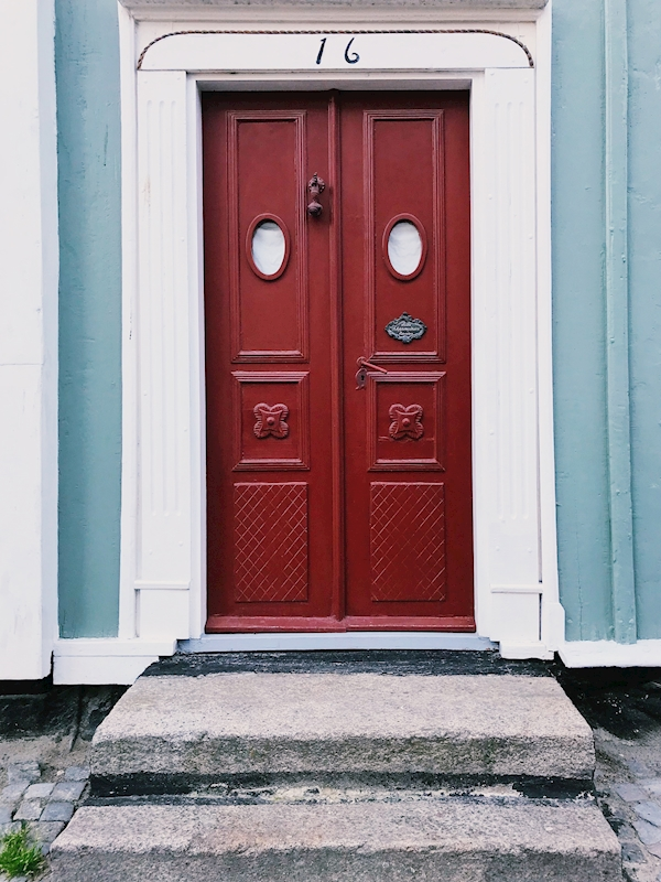 The red doors posters & prints by Sofie Andersson Dear Dreamer Photography