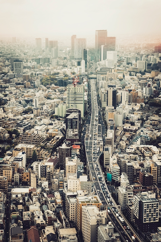 From Roppongi to Shibuya posters & prints by Pascal Deckarm