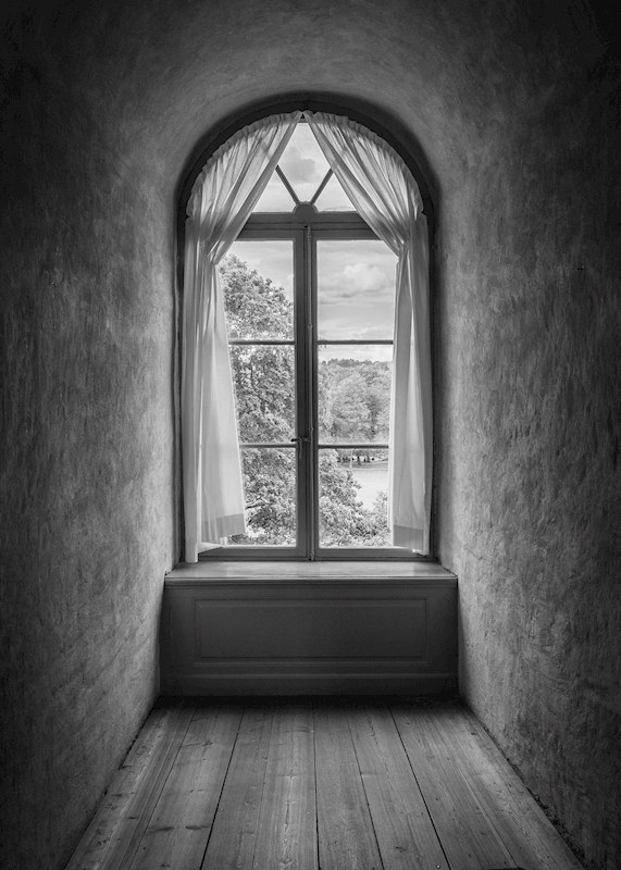 The castle window posters & prints by Joakim Thornéus