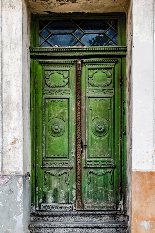 Green door posters & prints by Bodil Lindell