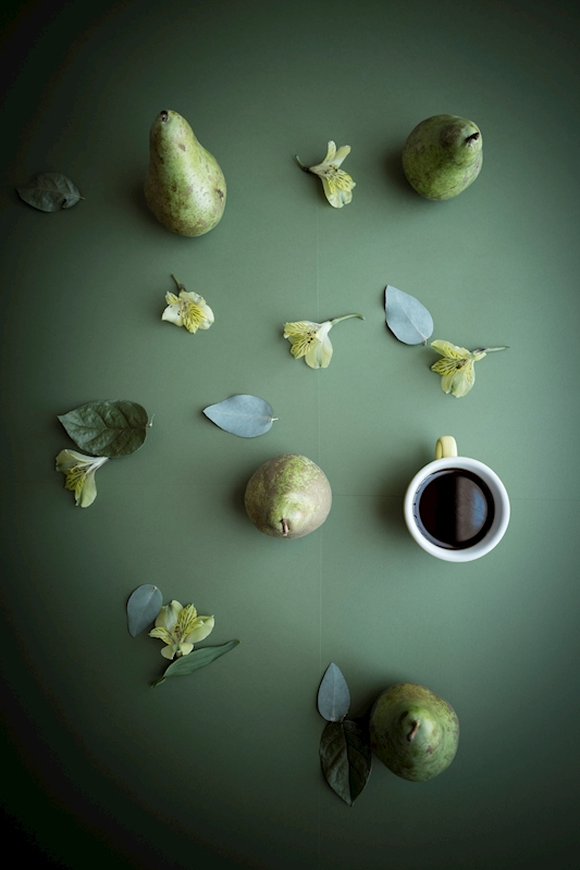 Coffee is a fruit -8 posters & prints by May-Britt Schwasta