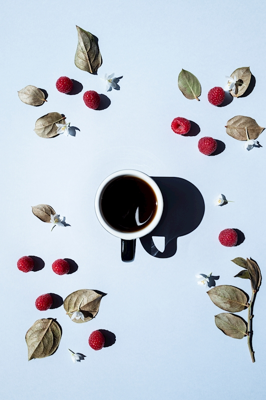 Coffee is a fruit -34 posters & prints by May-Britt Schwasta