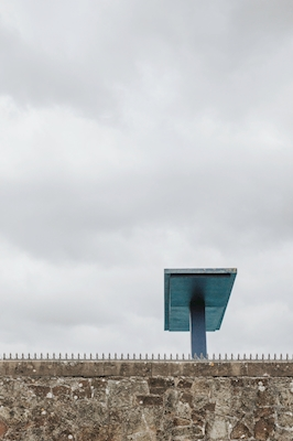 The Blue Diving Board