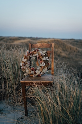 Chair in the dunes