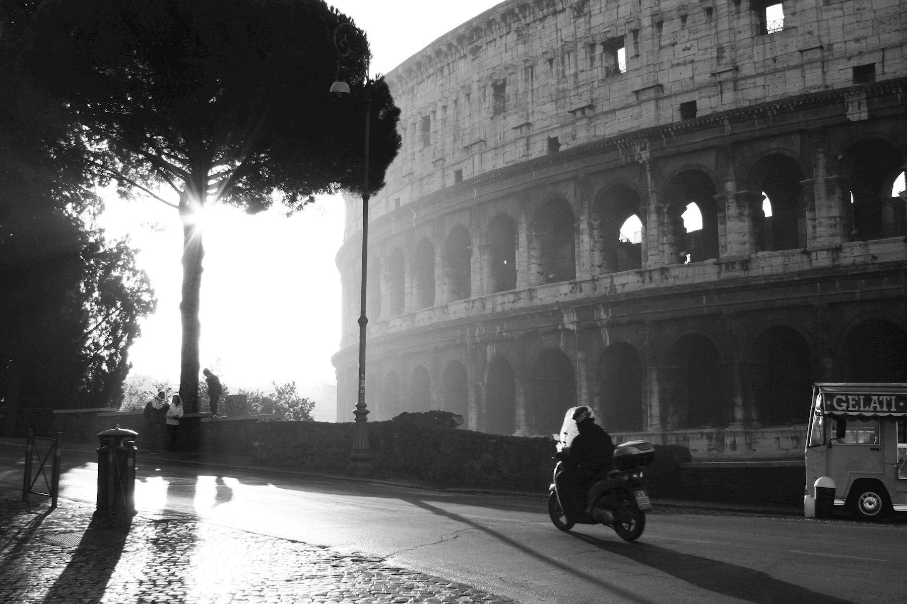 Early morning at Colosseum posters & prints by Ivan Sjögren