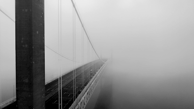 In to the fog