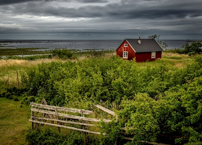 The cabin by the sea