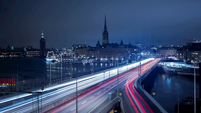 Fast-paced Stockholm