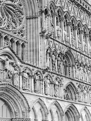 The Cathedral, b&w